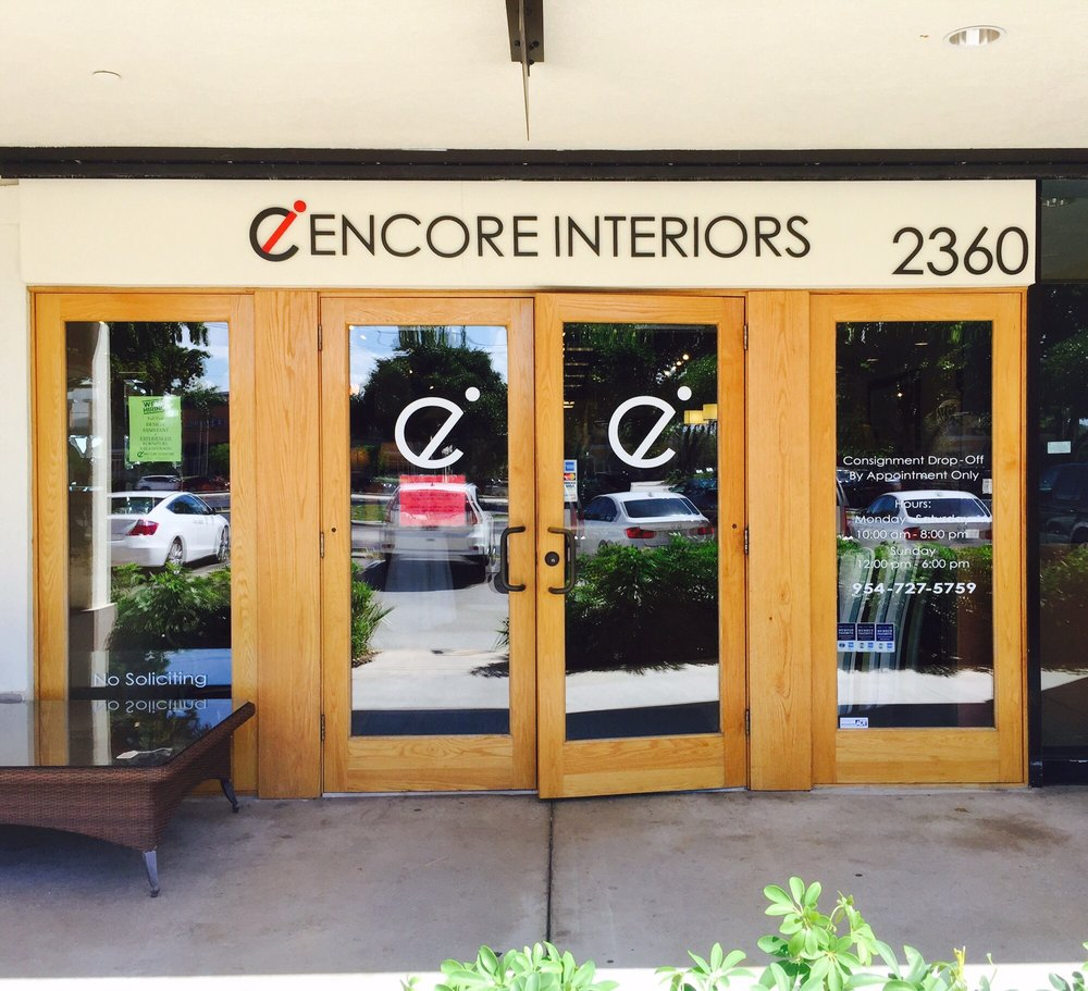Photo Of Encore Interiors   Fort Lauderdale, FL, United States. Encore  Interiors Entrance