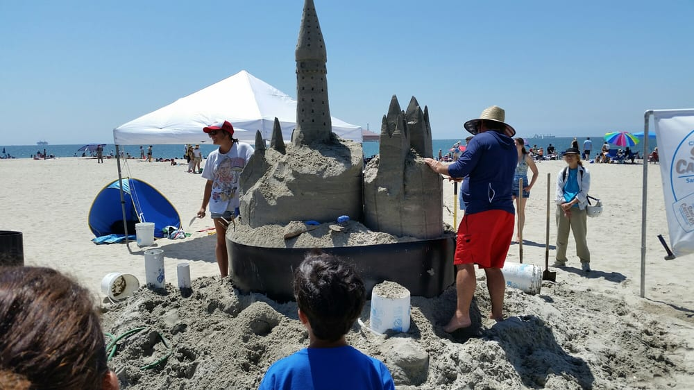Long Beach Sand Sculpture and Music Feastival