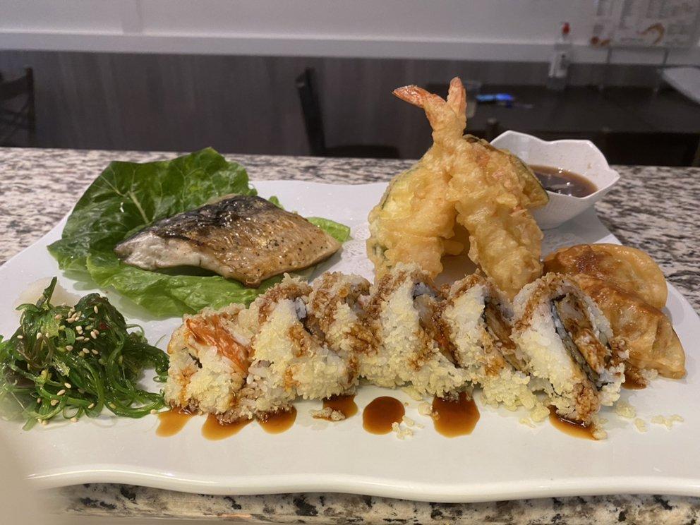 Food from Toro sushi