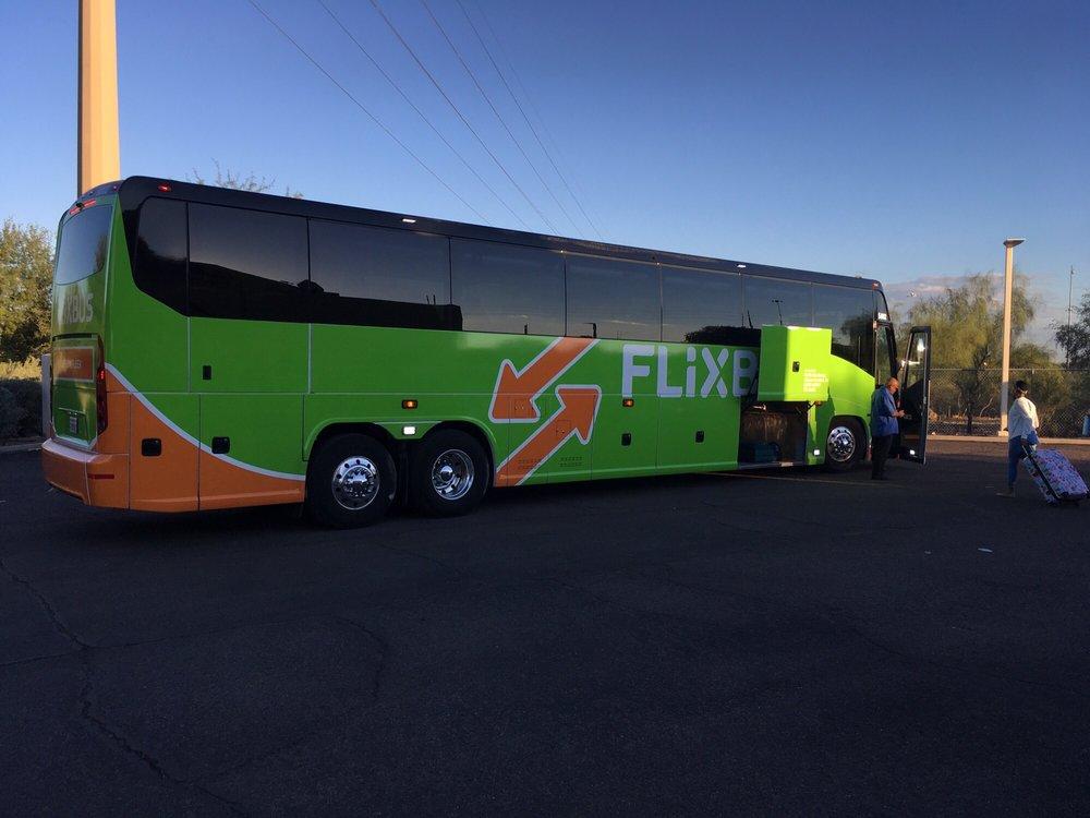 Flix Bus: 802 W Speedway Blvd, Tucson, AZ