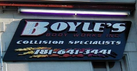 Boyle's Body Works: 29 Sunnyside Ave, Arlington, MA
