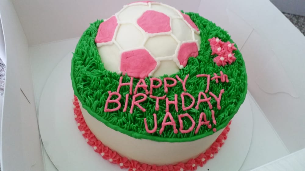 Soccer Ball Birthday Cake Yelp