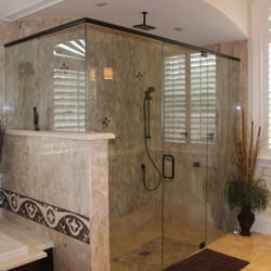 photo of the original frameless shower doors coral springs fl united states