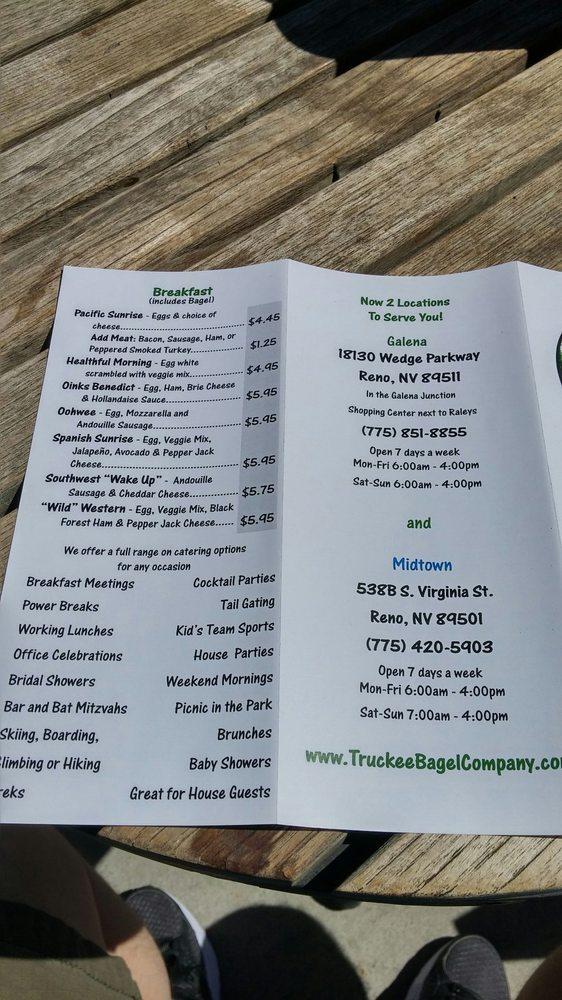 Truckee Bagel Company - Midtown - Order Food Online - 141