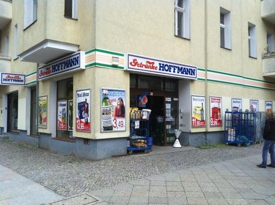 Getränke Hoffmann - Beverage Store - Schlüterstr. 68, Charlottenburg ...