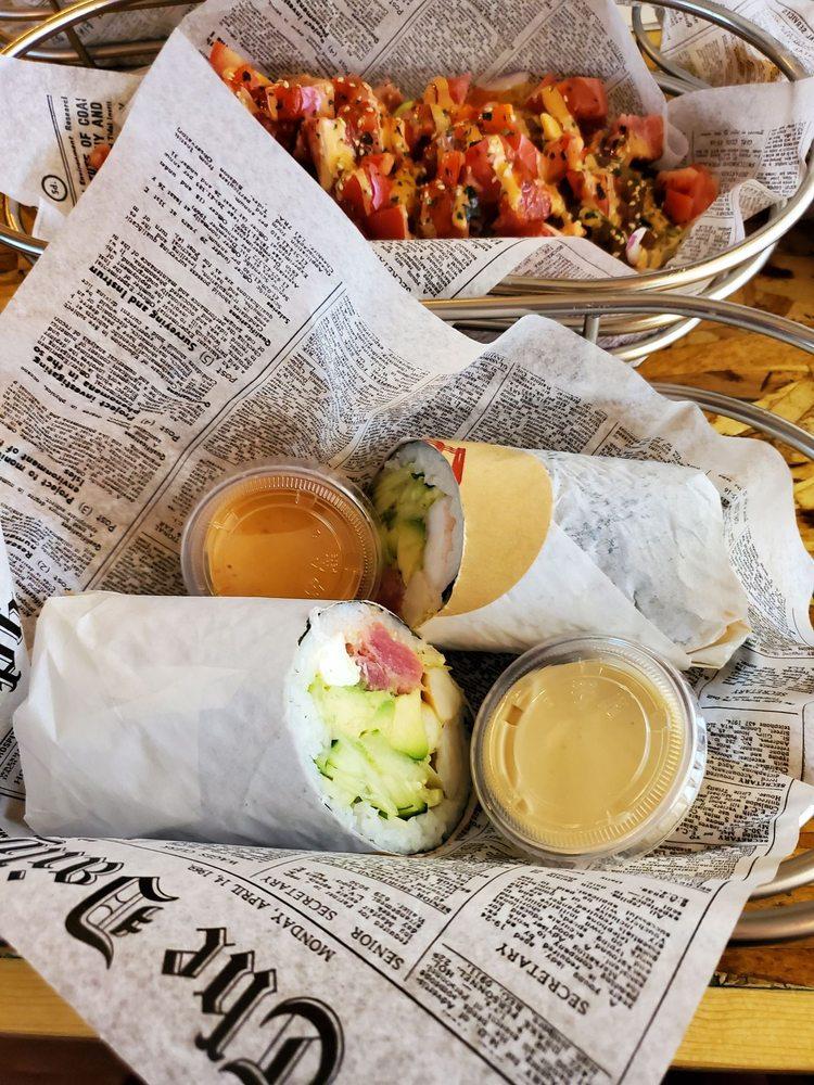 ZEN Ramen & Sushi Burrito: 8534 S Tacoma Way, Lakewood, WA