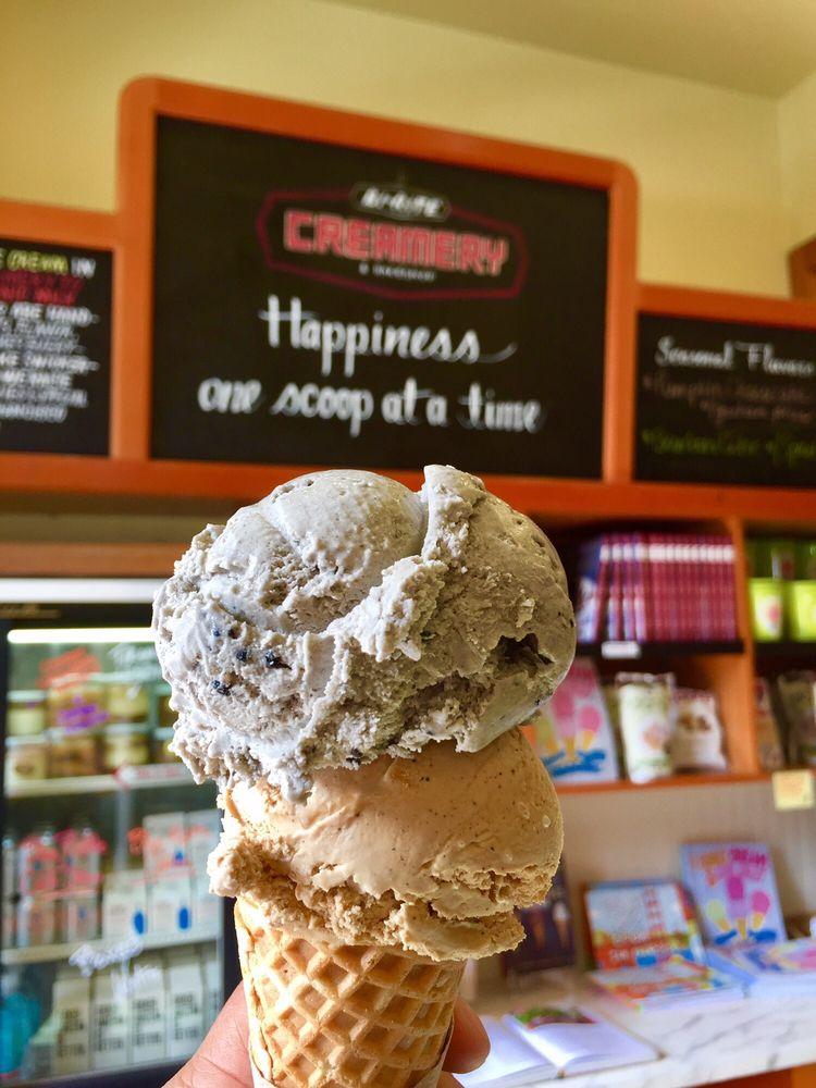 Photo of Bi-Rite Creamery - San Francisco, CA, United States. Black Sesame and Coffee Toffee