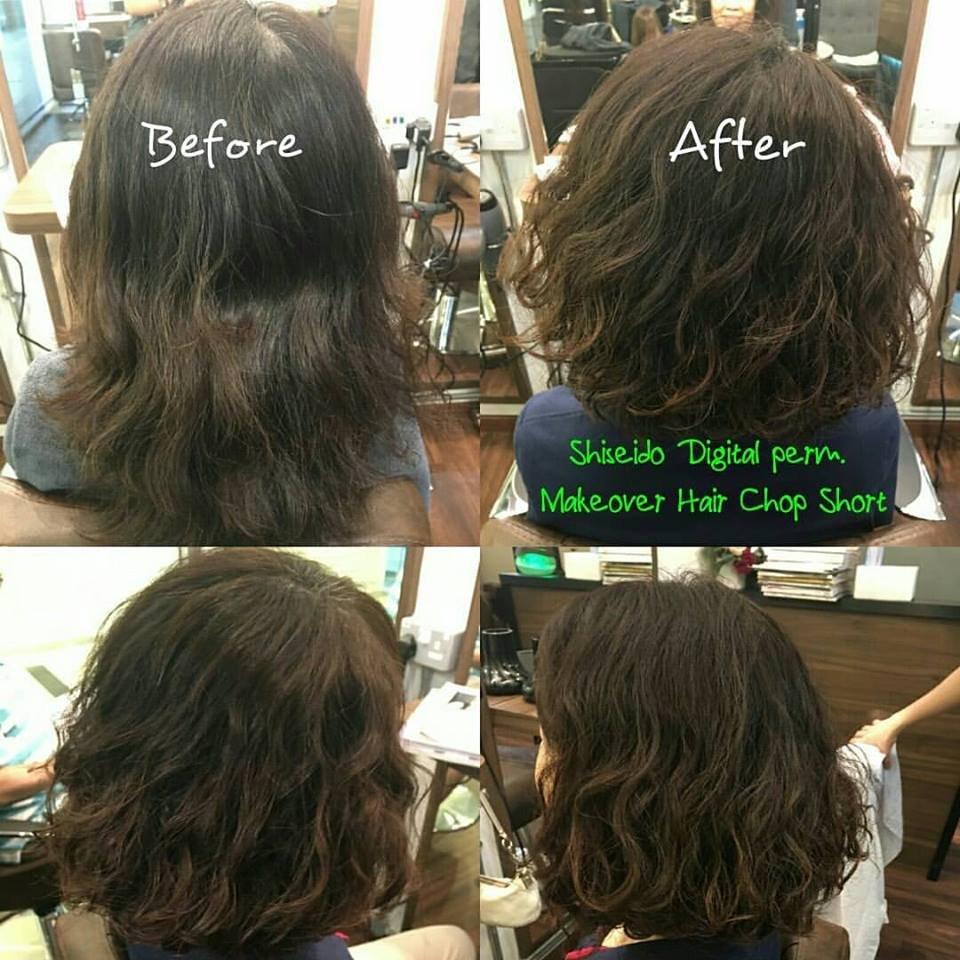 New Hair Makeover Hair Chop Short Hair Treatment And