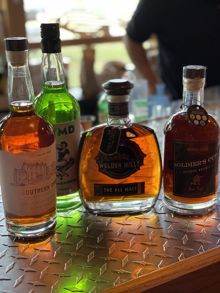 Weldon Mills Distillery: 200 Rockfish Dr, Weldon, NC