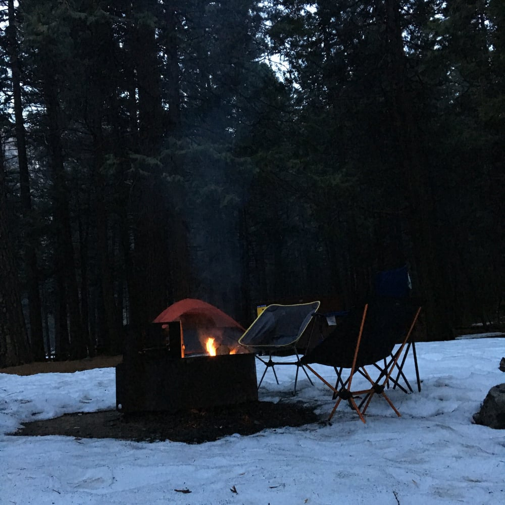 Upper pines campground at yosemite national park 43 for Yosemite park camping cabins