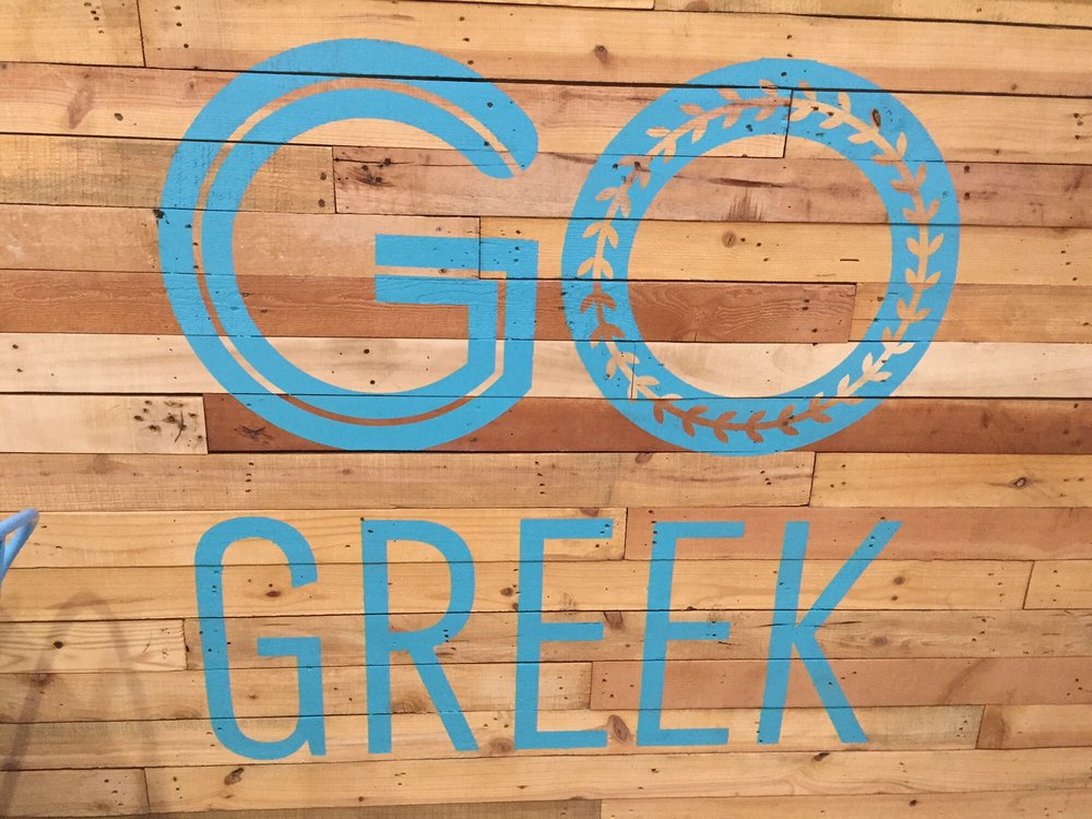 Food from Go Greek