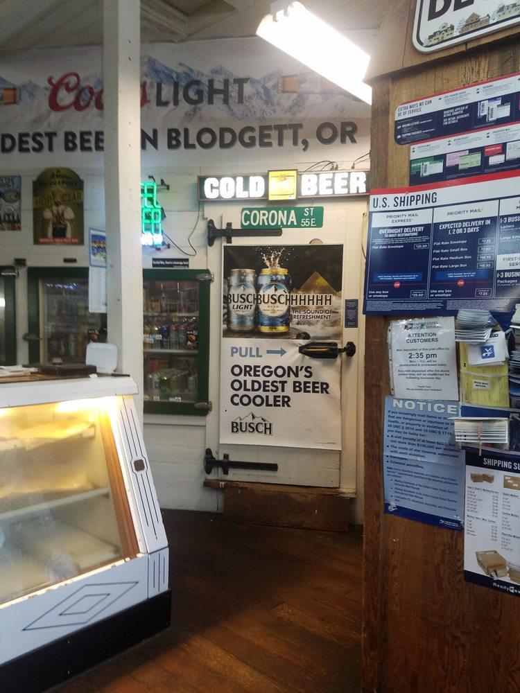 Blodgett Country Store: 21412 Highway 20, Blodgett, OR