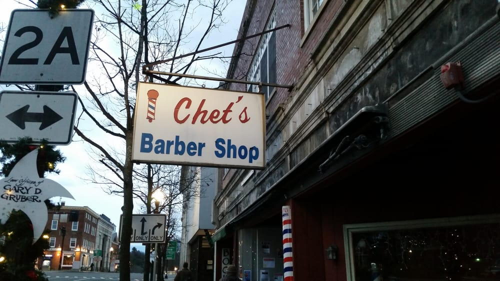 Chet's Barber Shop: 14 Federal St, Greenfield, MA