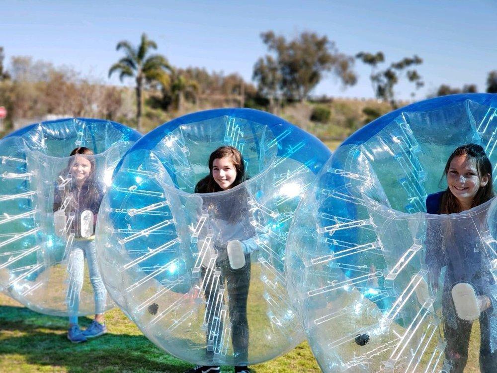 Ballistic Bubble Soccer