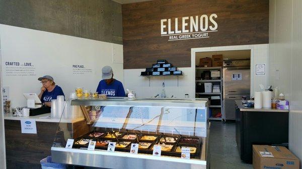 Ellenos Real Greek Yogurt 5707 Airport Way S Seattle, WA Ice