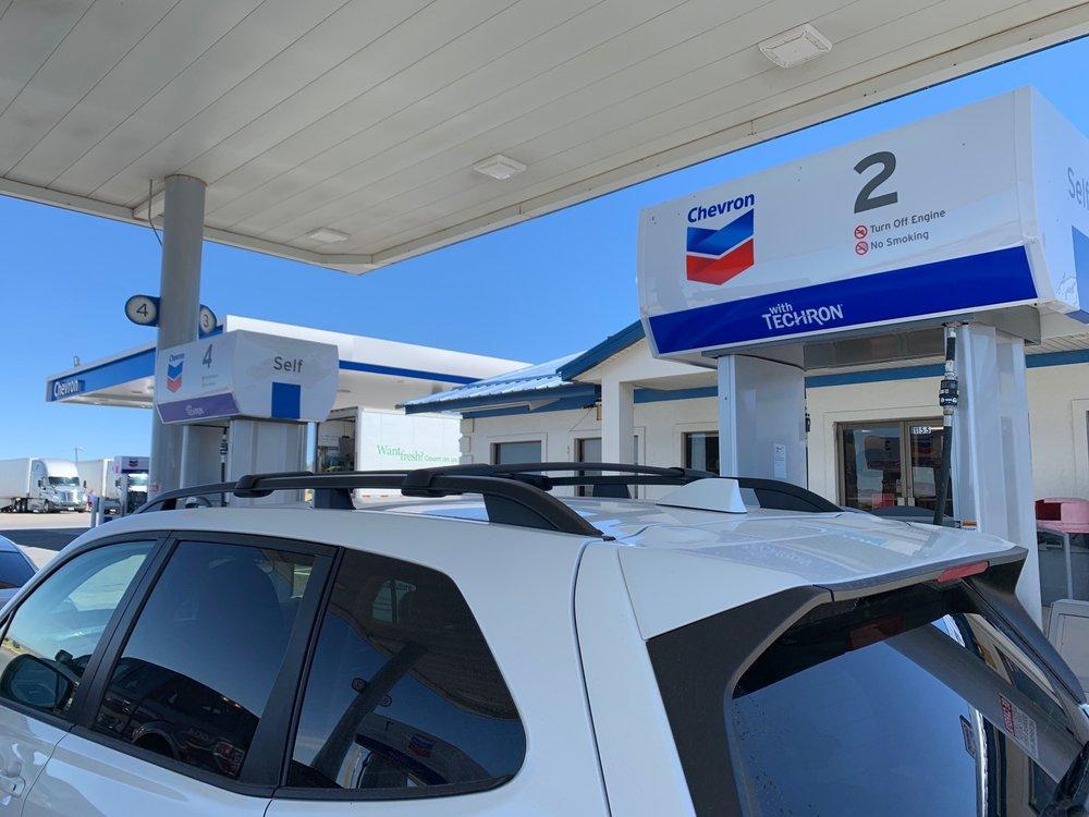 Chevron: 1160 Cedar Mountain Rd, Fillmore, UT