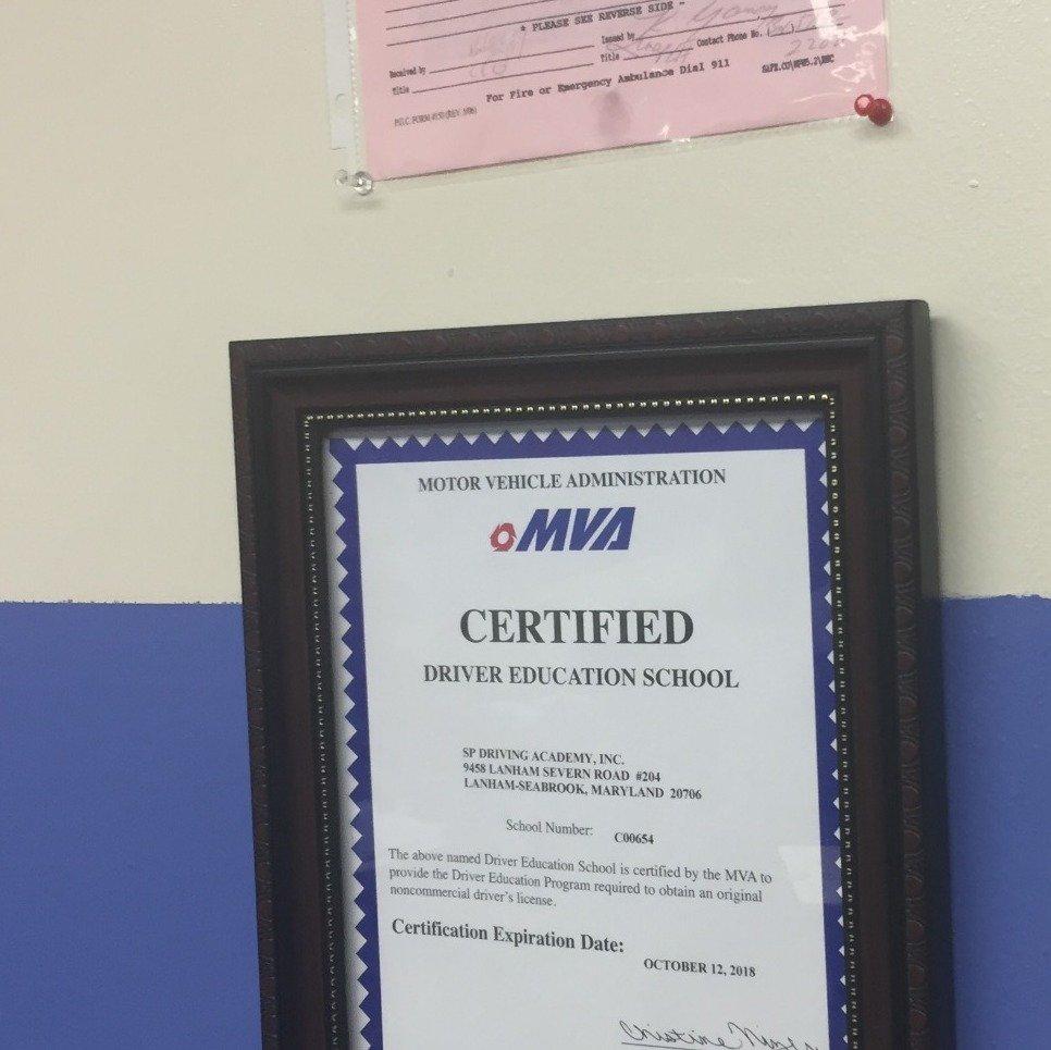 Mva Certified Driving School Yelp