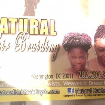 Natural hair braiding 25 photos hair extensions 5524 georgia photo of natural hair braiding washington dc united states business card colourmoves