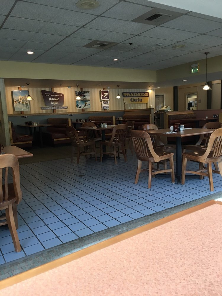 Trailside Cafe: 100 Front St, Wallace, ID