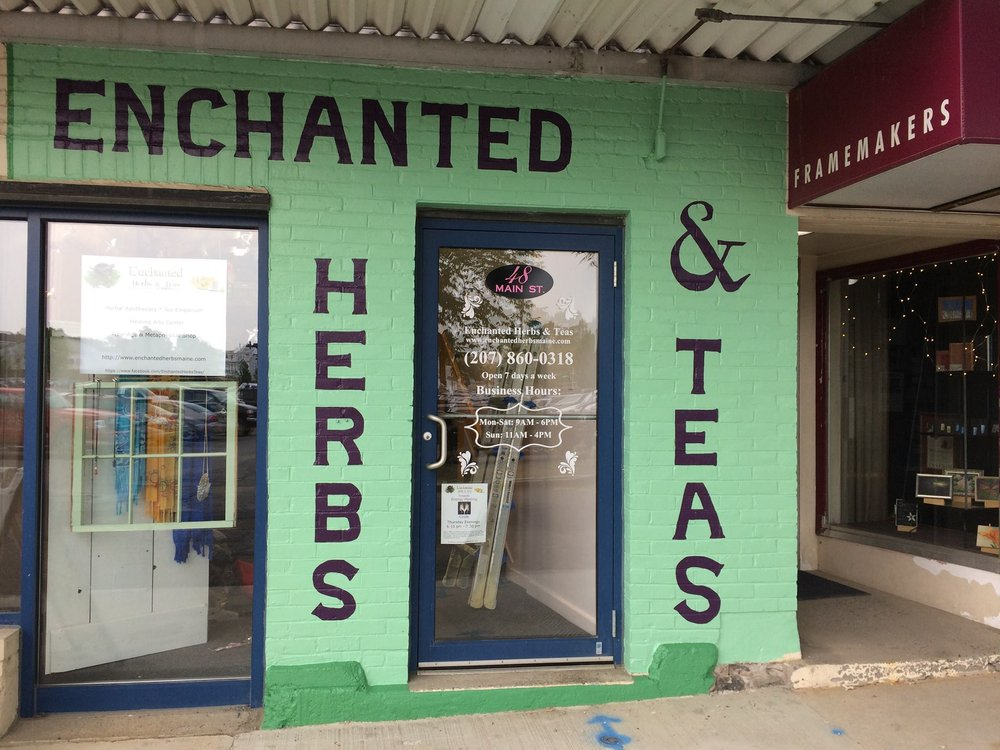Enchanted Herbs & Teas: 48 Main St, Waterville, ME