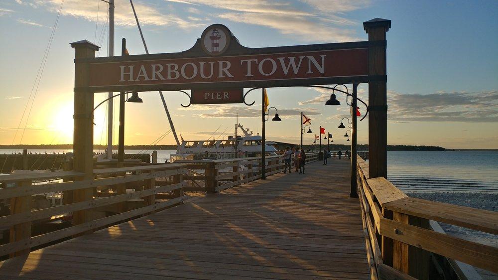 Harbour Town Pier: 149 Lighthouse Rd, Hilton Head Island, SC