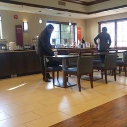 Photo Of Hampton Inn Franklin Ma United States Breakfast Bar