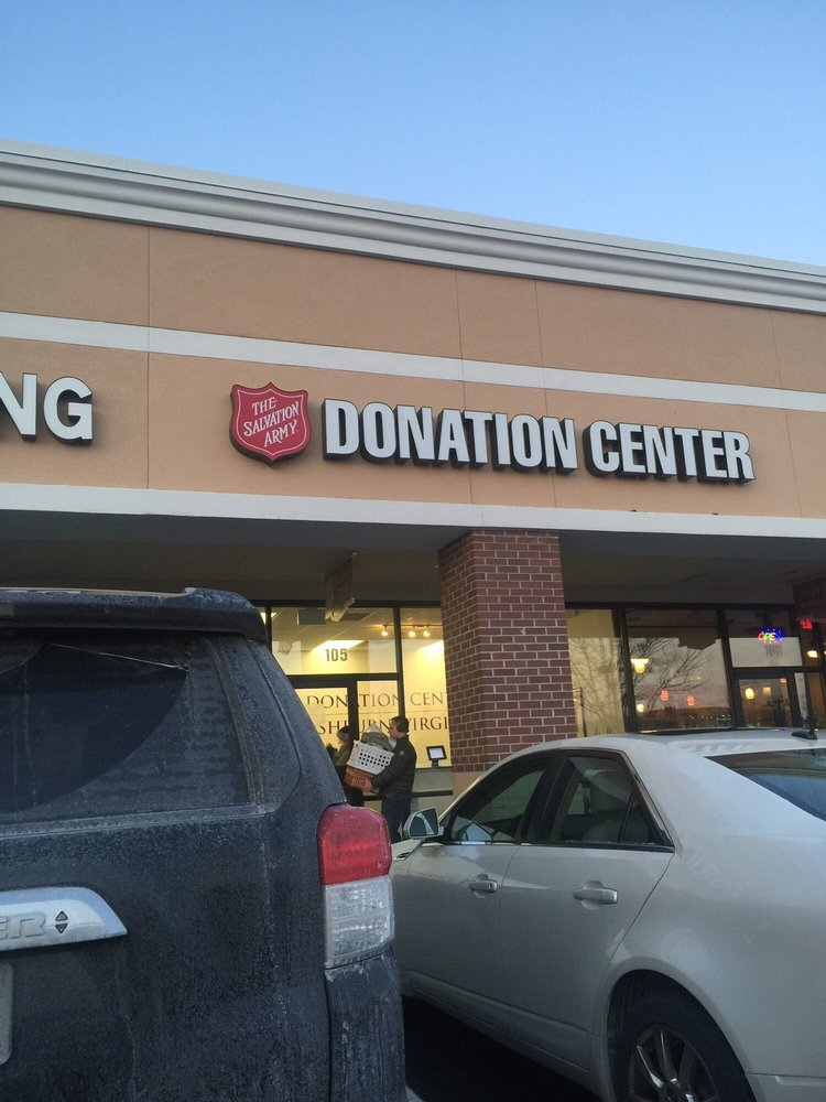 The Salvation Army Donation center: 44260 Ice Rink Plz, Ashburn, VA
