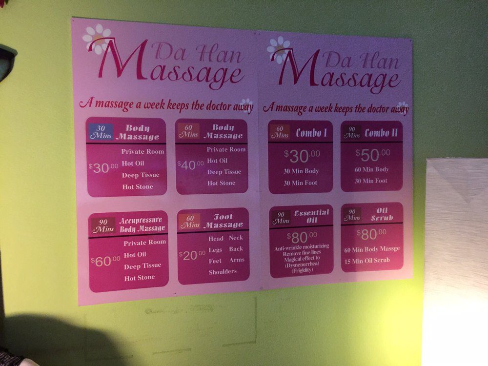 Dahan Massage Spa: 1321 E Thousand Oaks Blvd, Thousand Oaks, CA