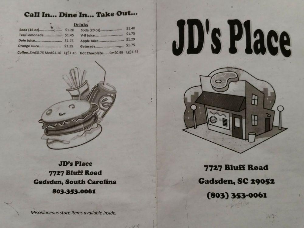 J D's Place: 7727 Bluff Rd, Gadsden, SC