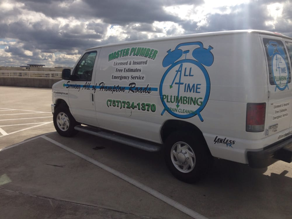 All Time Plumbing And Drain Cleaning Virginia Beach