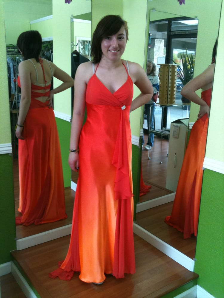 This Is A Prom Dress After Alteration Yelp
