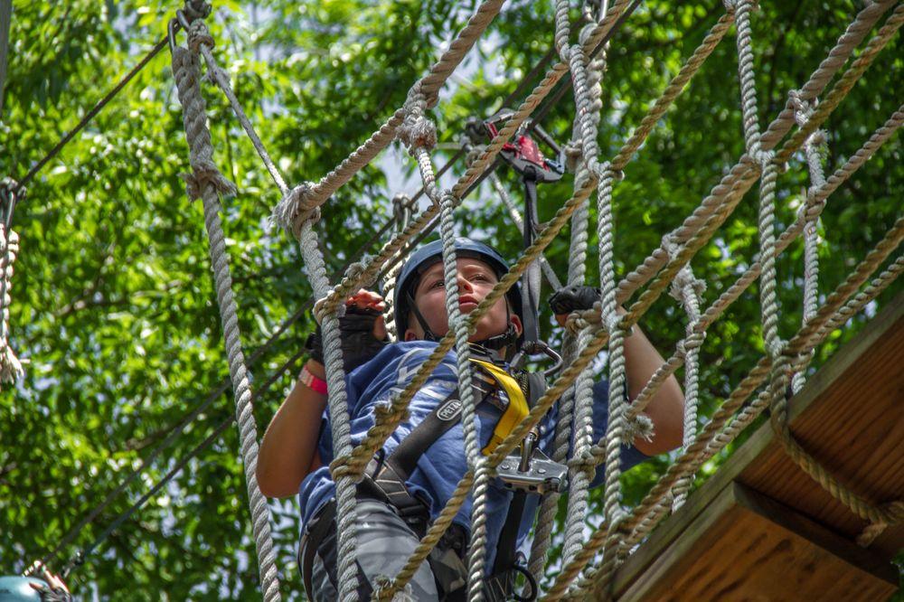 Trinity Forest Adventure Park: 1800 Dowdy Ferry Rd, Dallas, TX