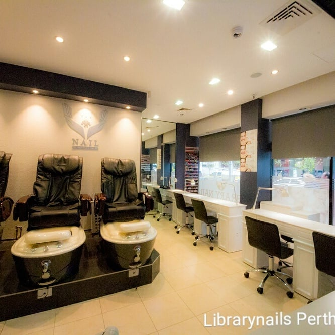 The library nail salon 137 photos 12 reviews nail for 137 st georges terrace perth