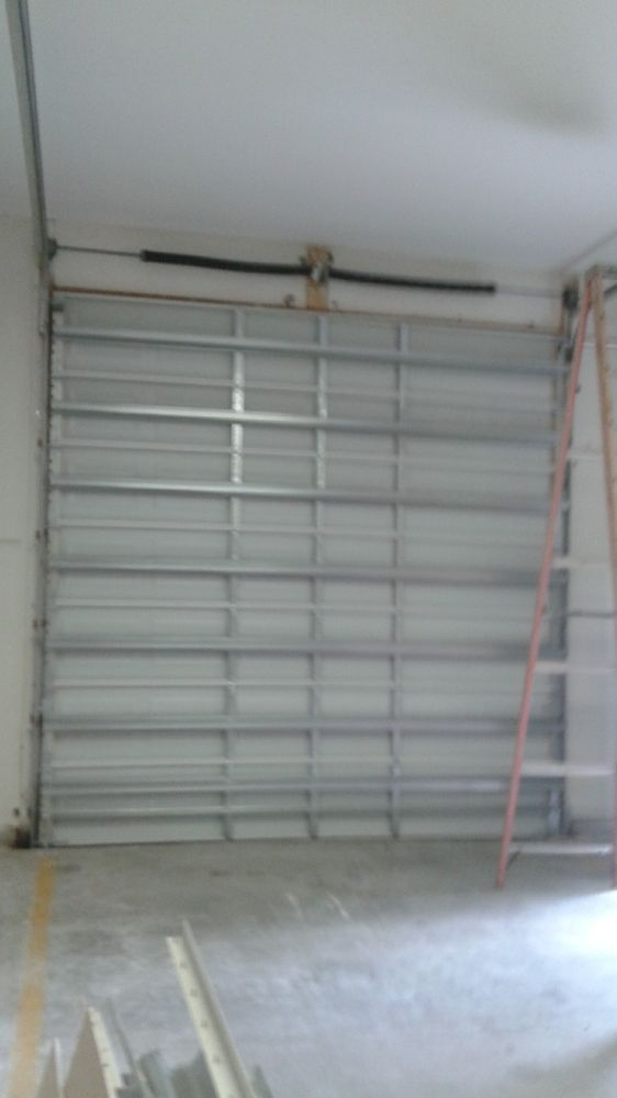 14x14 Commercial Door For An Rv Garage Yelp