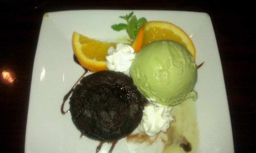 Lava cake and green tea ice cream yelp for Ayara thai cuisine los angeles