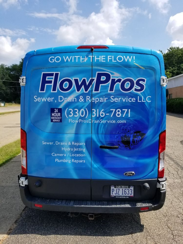 FlowPros Sewer, Drain, & Repair Service: 9131 Willowdale St, Magnolia, OH