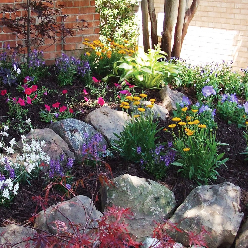 Flower Bed Maintenance Cost: Tiered Raised Flower Beds