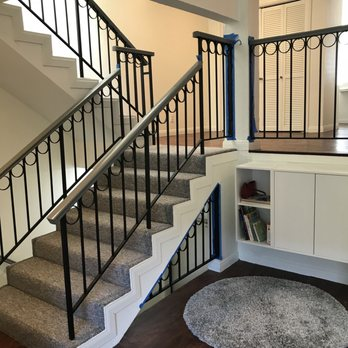 Invincible XT, white risers, and one piece stair treads - Yelp
