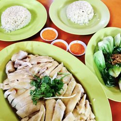 Photo Of Tian Tian Hainanese Chicken Rice Singapore Singapore Whole Chicken Rice