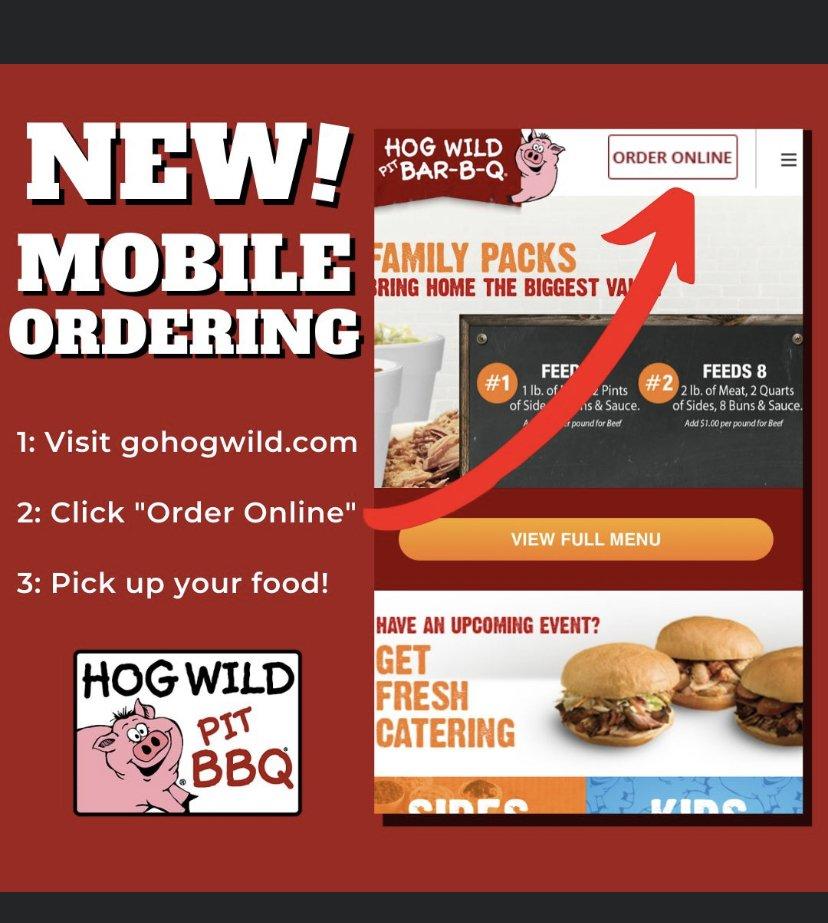 Hog Wild Pit Bar-B-Q: 662 E 47th St S, Wichita, KS