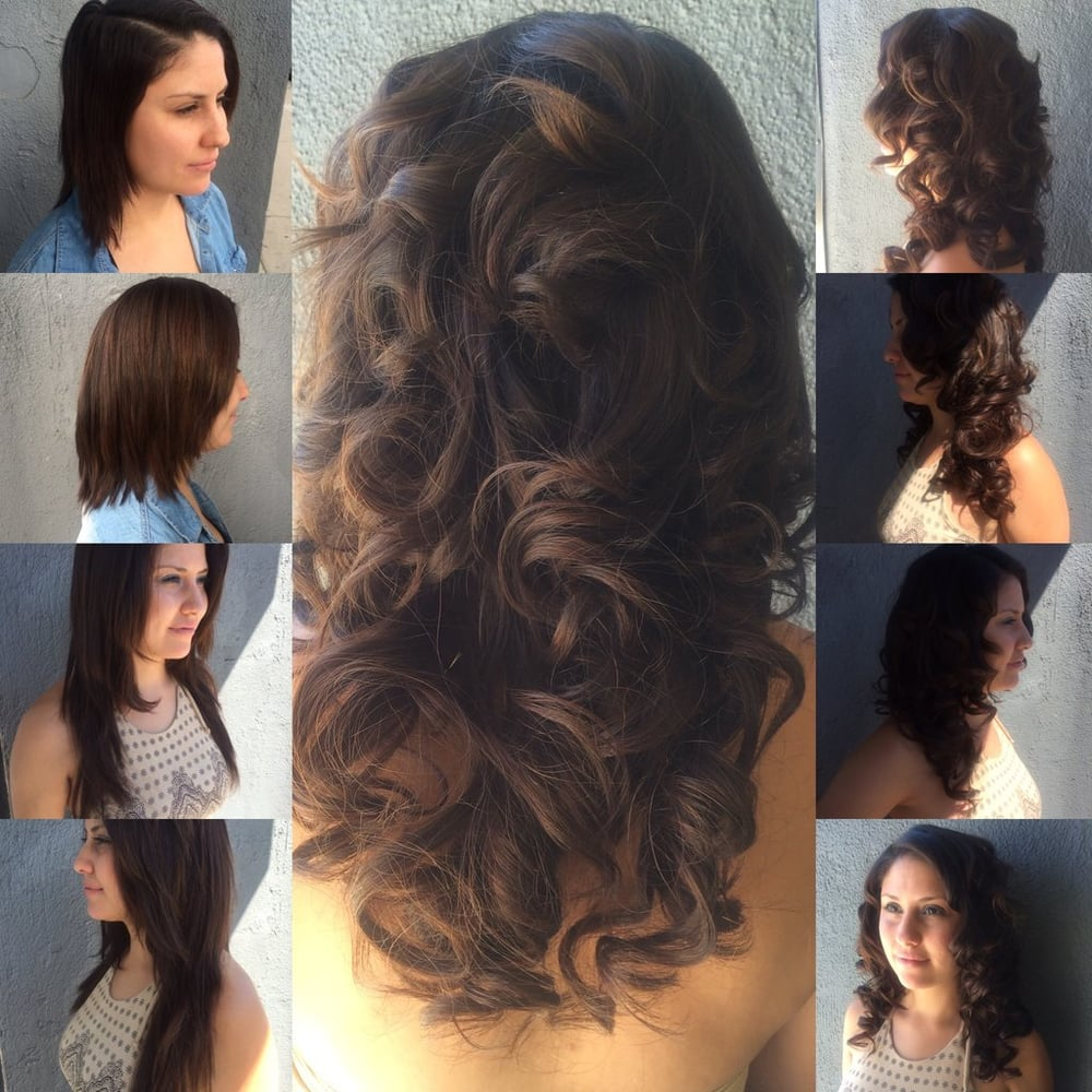 Hair Extensions Using Hotheads Tape In Method Yelp