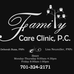 Family Care Clinic Family Practice 817 Lincoln Ave Harvey Nd