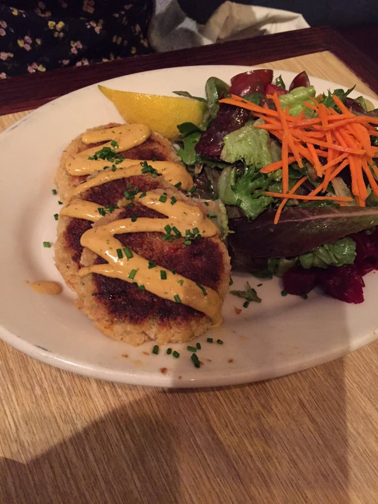 These are the crab cakes yelp for Woodhouse fish co