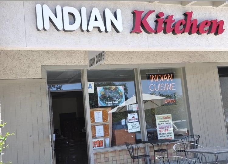 India Kitchen Menu Poway