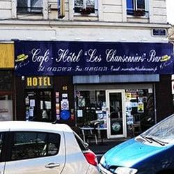 H tel les chansonniers hotels 113 boulevard for Hotel boulevard richard lenoir paris