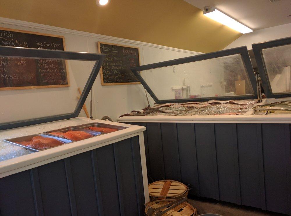 Photos for southold fish market yelp for Southold fish market menu