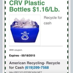 Recycling coupons pennysaver