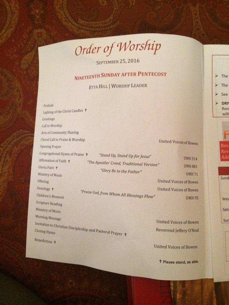 Order of Worship - Yelp