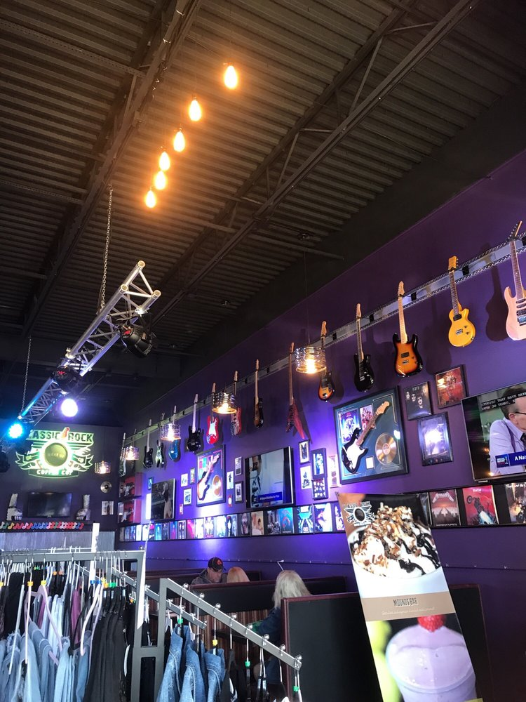 Social Spots from Classic Rock Coffee