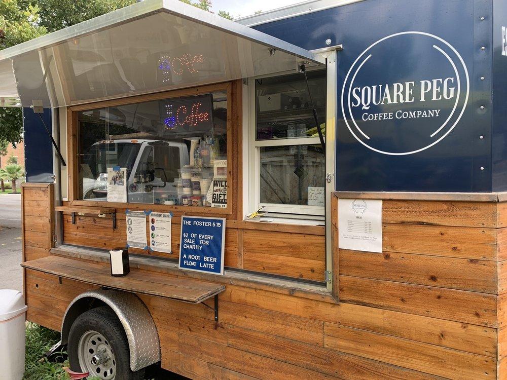 Square Peg Coffee Company: 104 E 31st St, Austin, TX